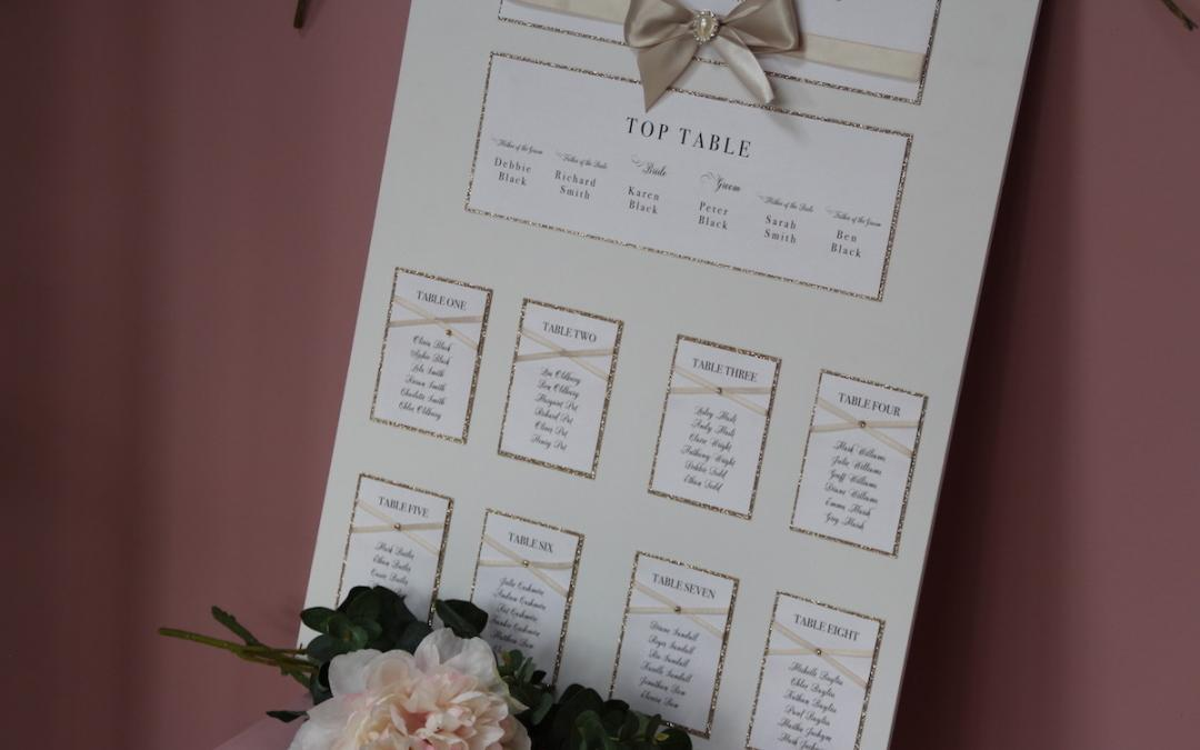 Wedding Table Plan Tips