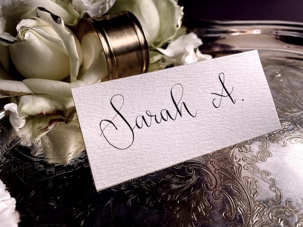 wedding place cards place name