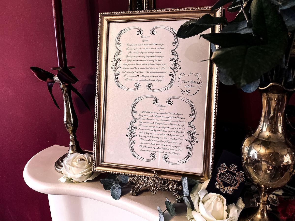 unique wedding invitations consultation Leicestershire