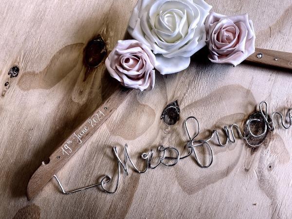 bridal wedding hanger