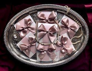 Gift Wish Poem wedding pocketfold