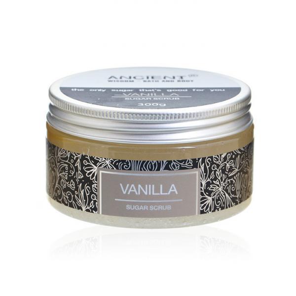 sugar scrub vanilla