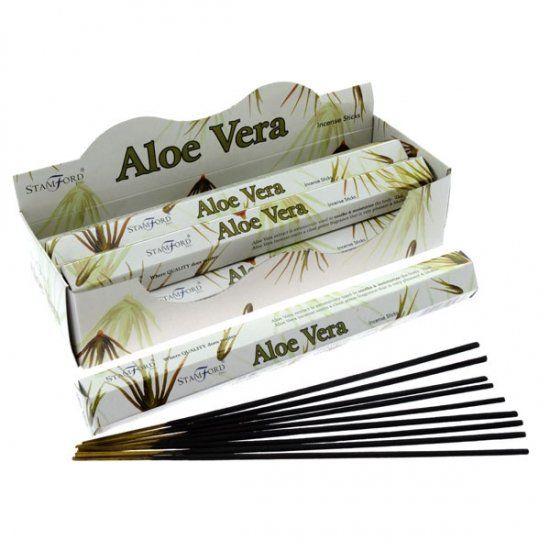 Aloe Vera Incense Sticks By Stamford